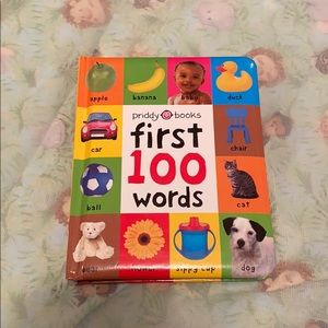 Baby's first 100 words book